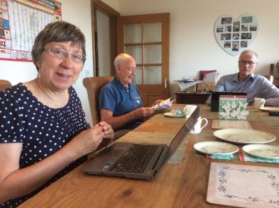 Monday 10 August 2015 – passing through