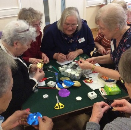 Origami and fellowship in Scarborough