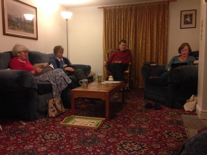 Thursday 14 April 2016 – house group
