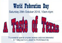World Federation Day – 29 October 2016