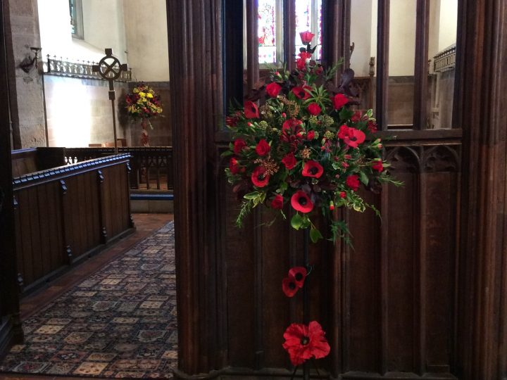 Sunday 13 November 2016 – remembrance