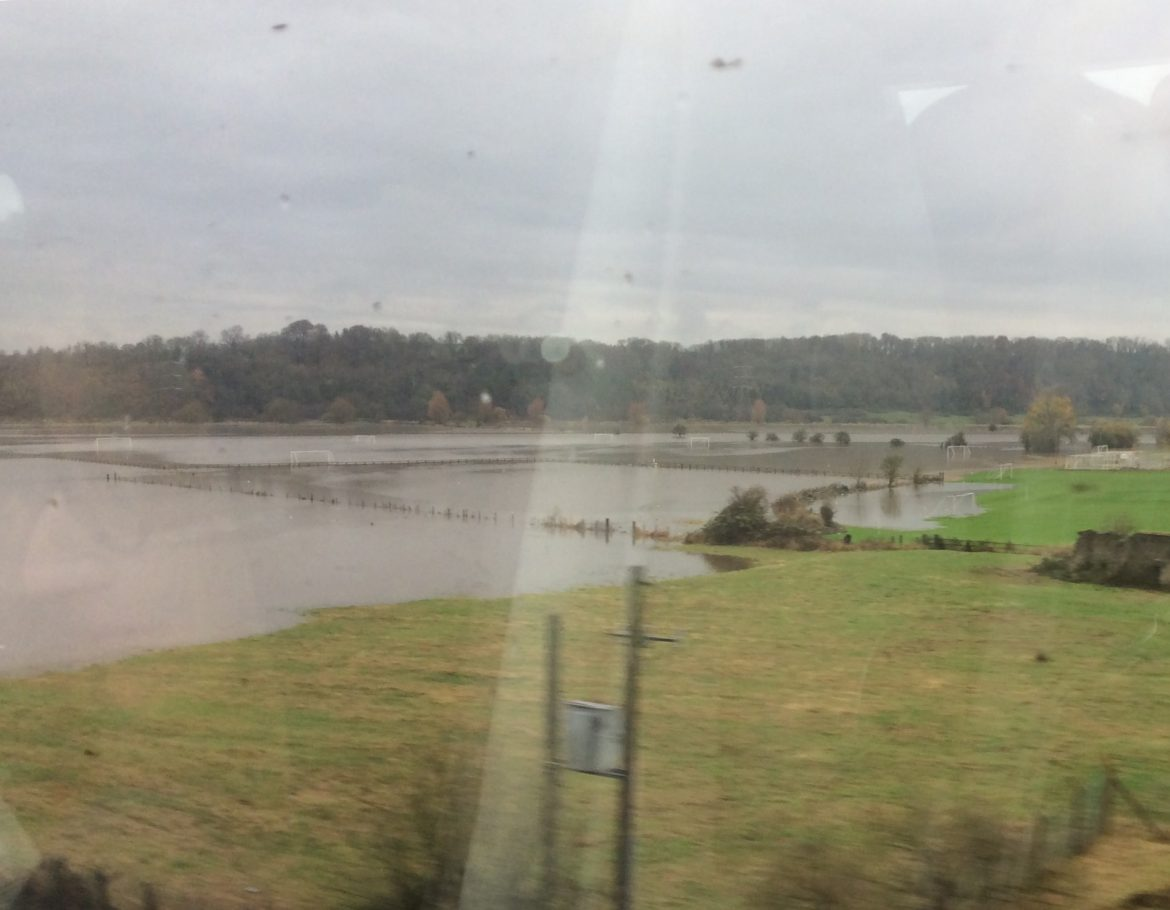 Westcountry under water