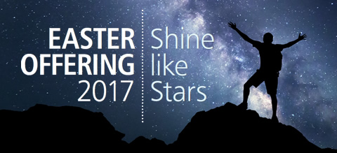 List of UK Easter Offering Services 2017