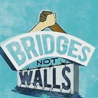 Saturday 21 January 2017 – bridges, not walls