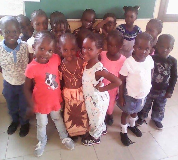 Children in The Gambia