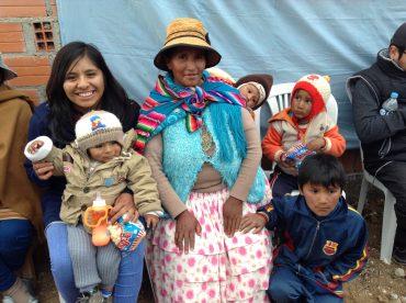 Bolivian family