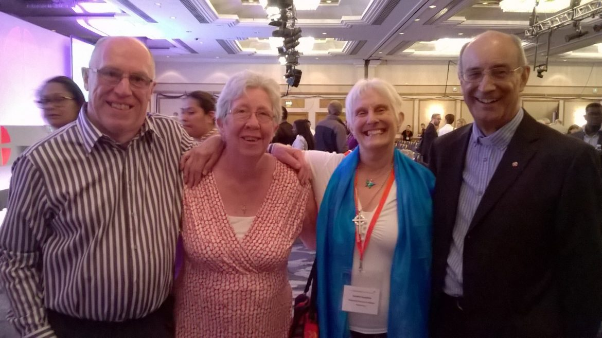 Friends at Conference