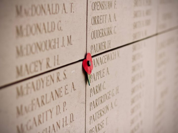 Saturday 10th November – We will remember them…