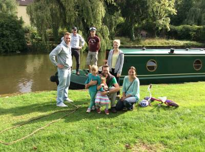 Sunday 30 August 2015 – afternoon on the canal