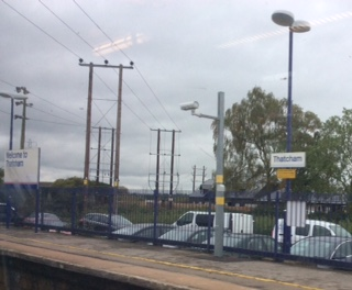Wednesday 7 October 2015 – train journey