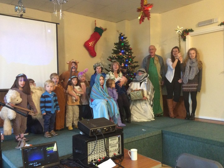 Sunday 20 December 2015 – scratch nativity