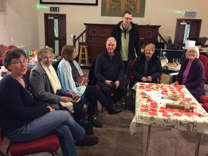 Tuesday 19 January 2016 – some of my church family