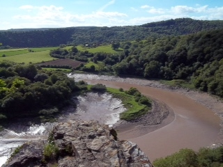 14 February 2016  – A Big Loop on the River Wye