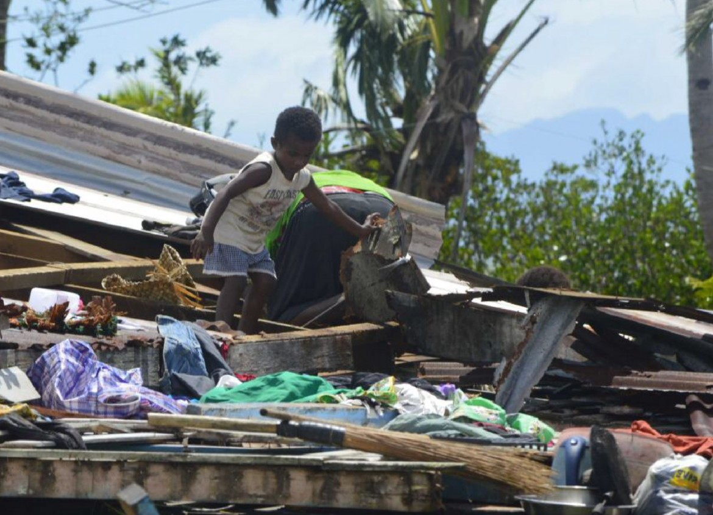Fiji: ropical Cyclone Winston.