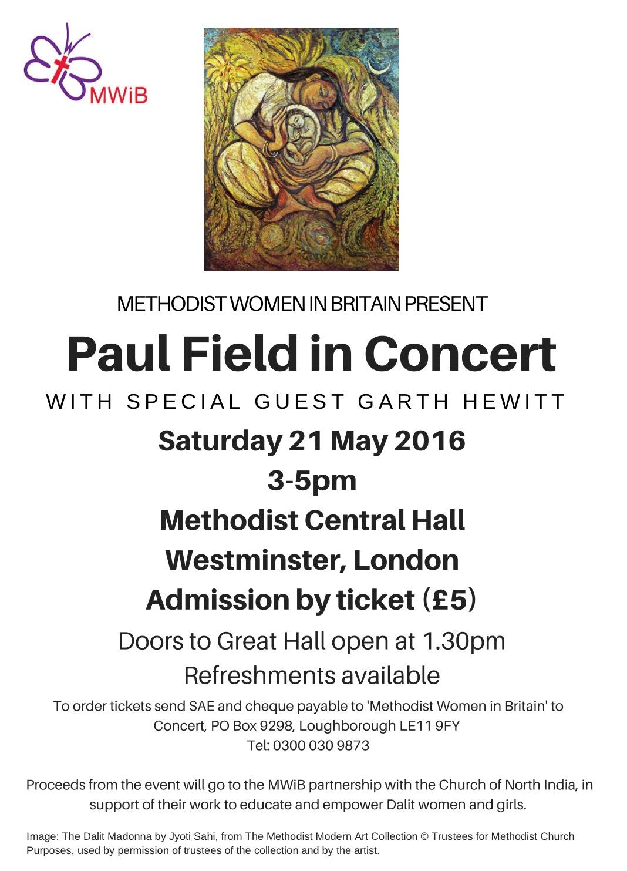 Paul Field concert