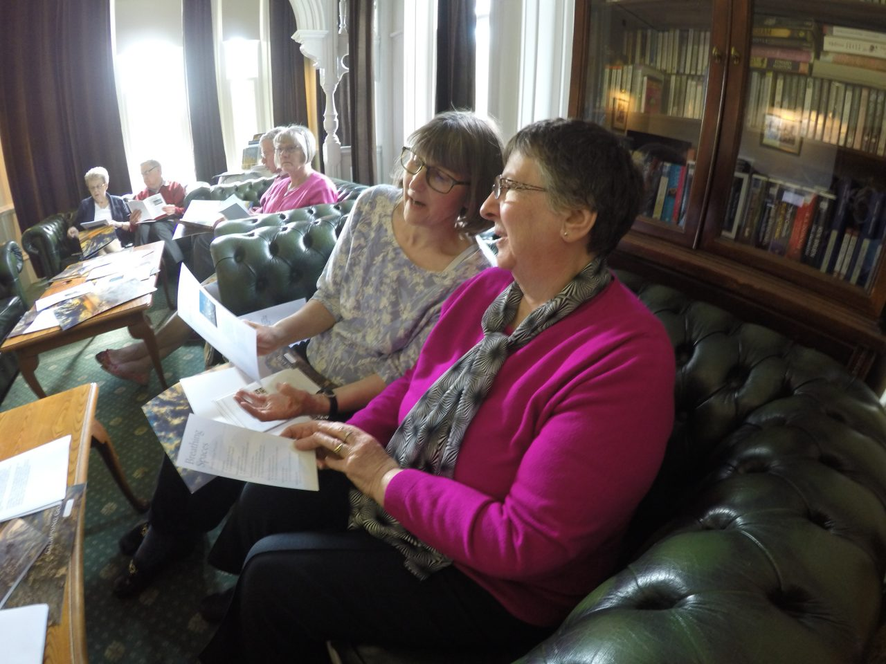 Delegates at the Visual Impairment Conference at Windermere