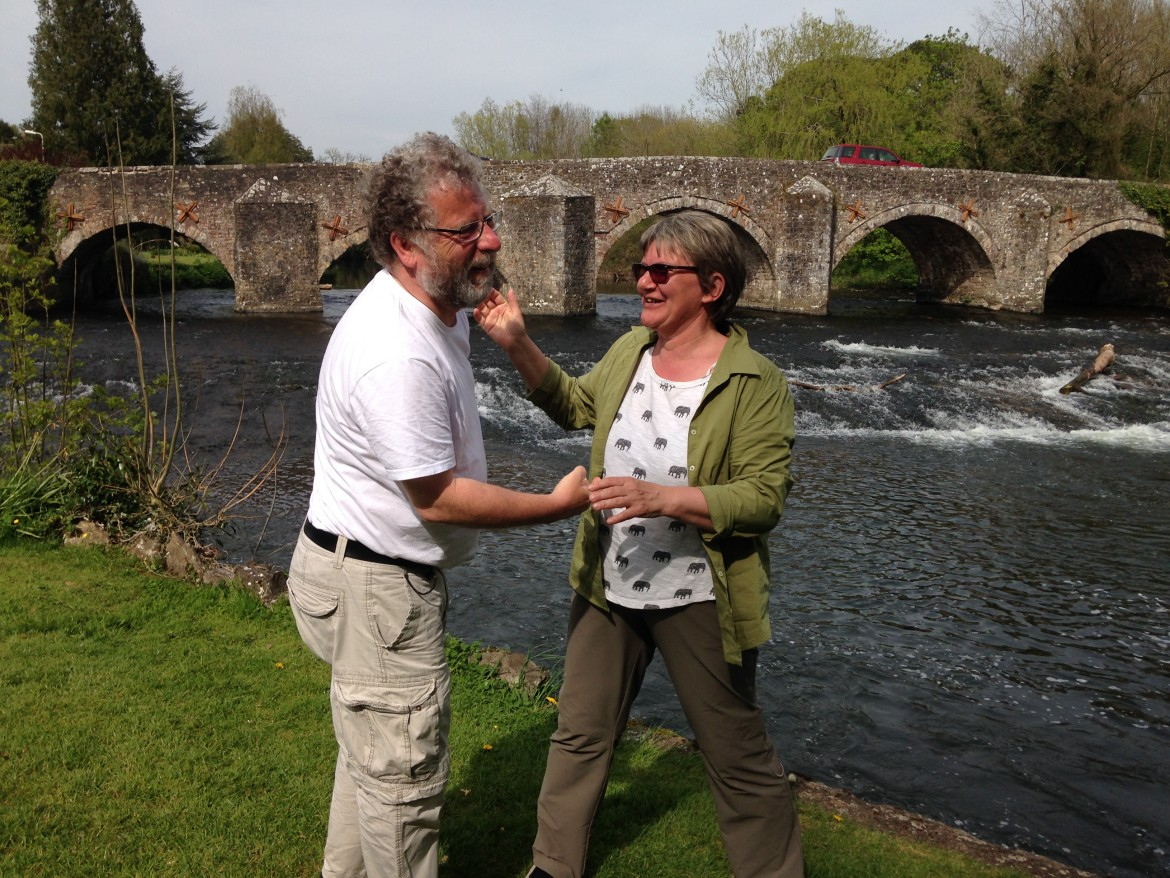 German visitors Bickleigh Bridge