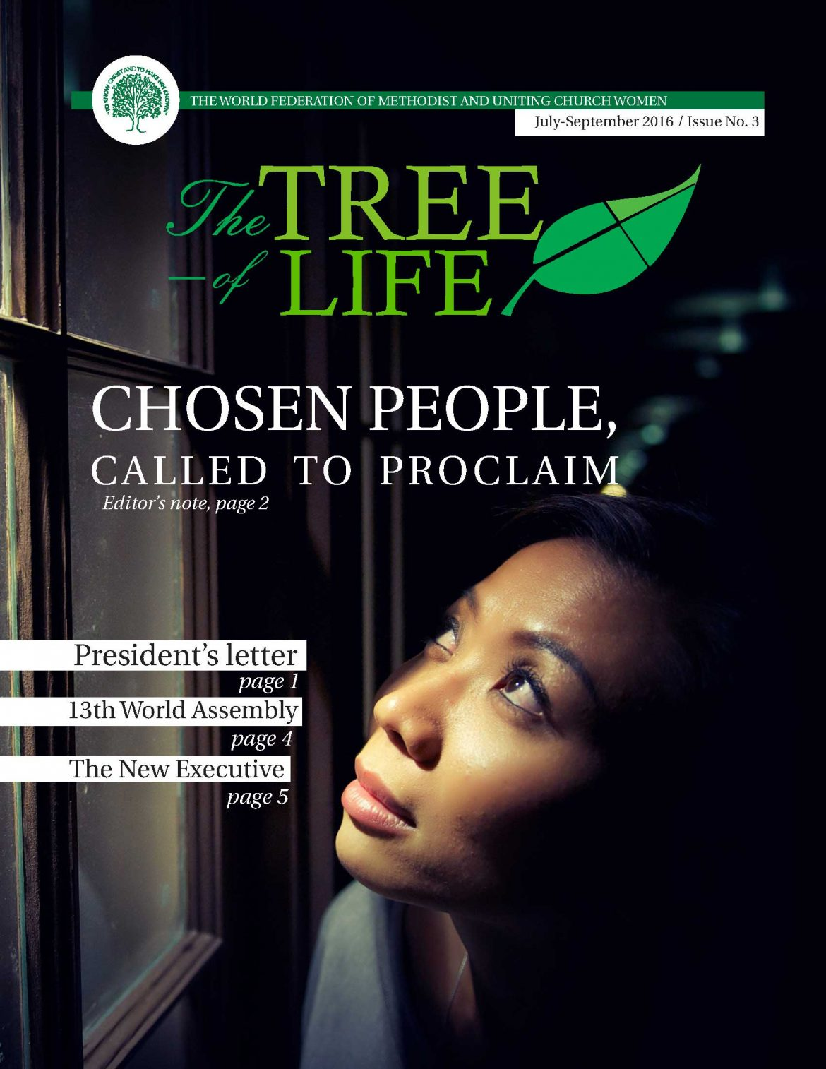 Tree of Life Magazine cover