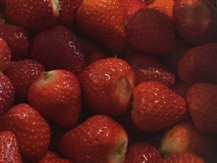 Saturday 10 June 2017 – strawberry fields forever
