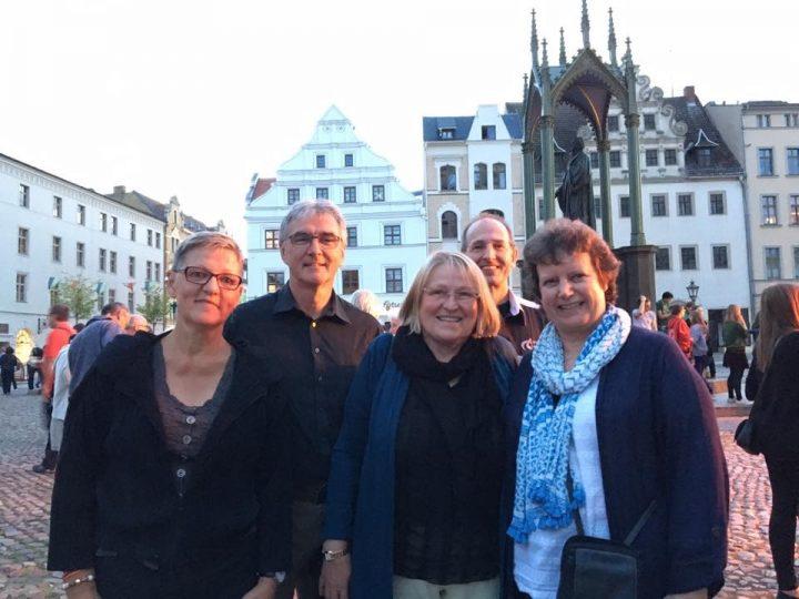 Monday 17 July 2017 – Auf Wiedersehen, Wittenberg!