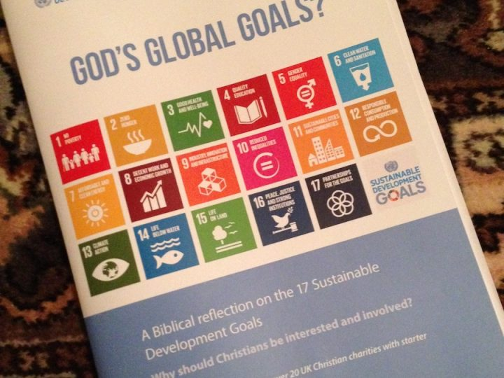 4th February 2018 – 'God's Global Goals?'