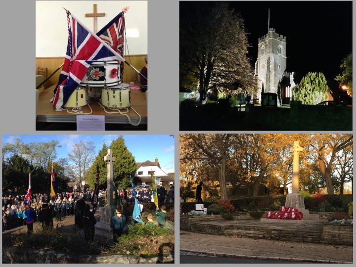 Sunday 11th November 2018 – 'Armistice Day'