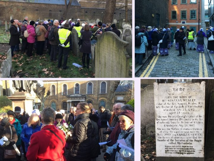 Sunday 20th January 2019 – 'Birth to Burial: Susanna Wesley Pilgrimage'