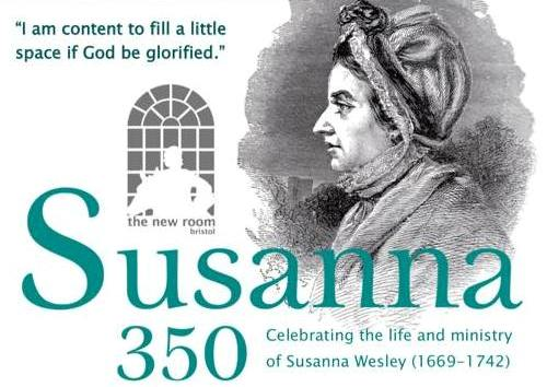 Susanna 350 event at the New Room, Bristol