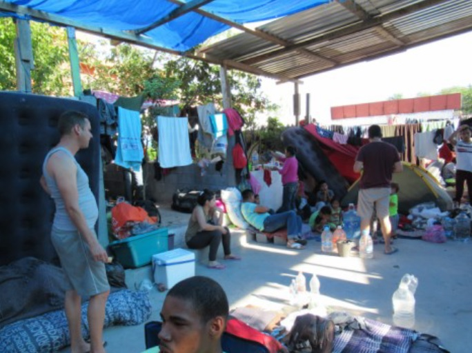 A visit to Mexican border migrant shelters – April 2019