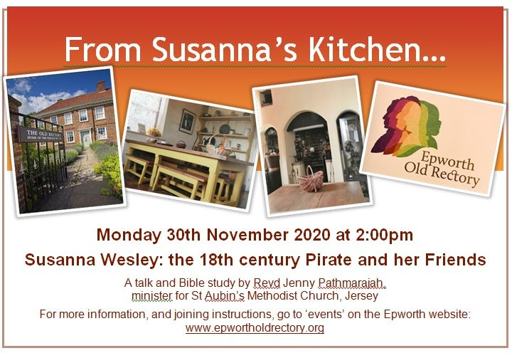 From Susanna's Kitchen…